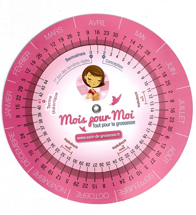 calcul date de grossesse