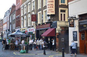 Séjour linguistique Londres : Les quartiers de la ville